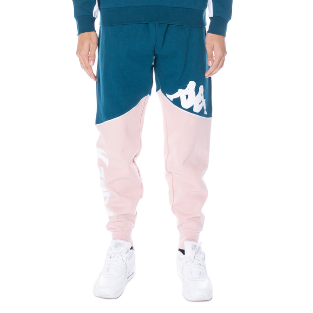 Authentic 90 Bragon Sweatpants - Blue Petrol Pink