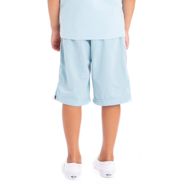 Kids 222 Banda Treadwellz Azure Greysilver Black Shorts