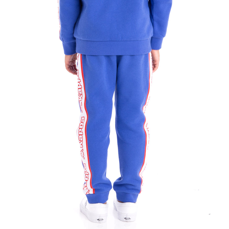 Kids Logo Tape Anira Sweatpants Blue Royal