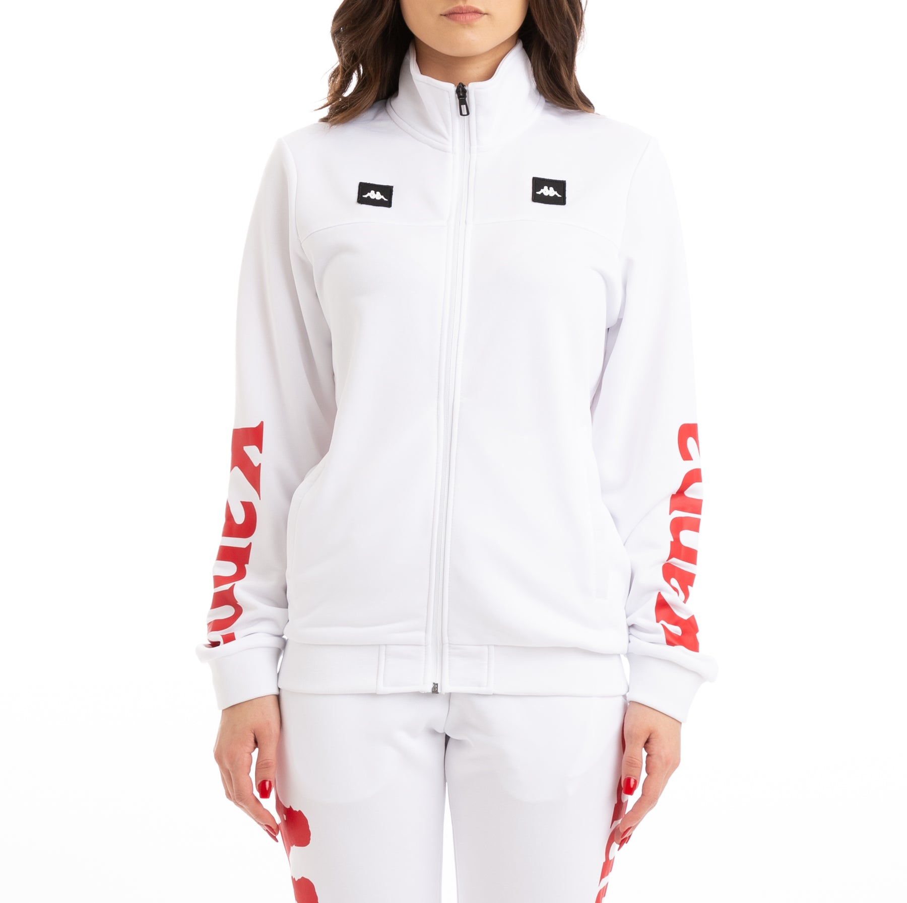 4b2d3ed266 Kappa Kalcio Bouvilly White Red Track Jacket – Kappa USA