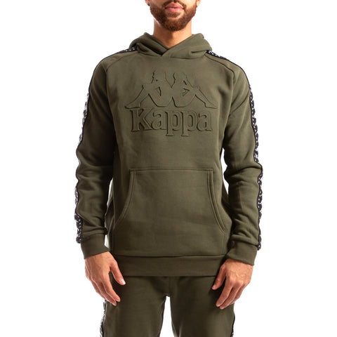 Kappa Authentic Bzaleh Green Africa Black Hoodie