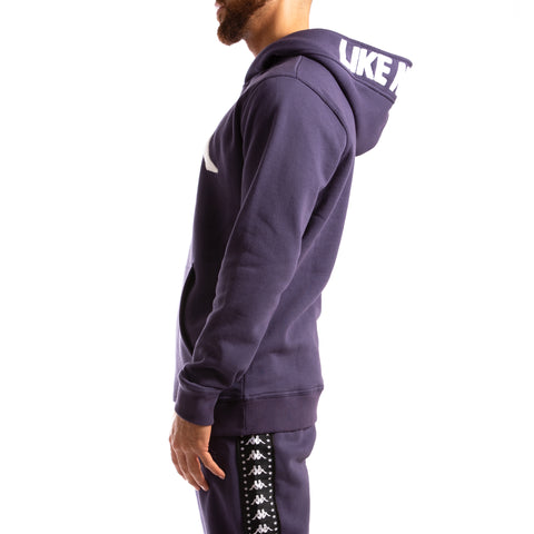 Kappa Authentic Bzalent Blue Greystone Hoodie