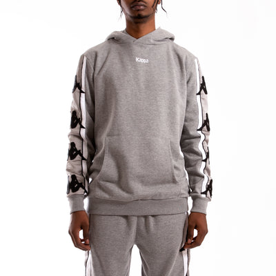 Kappa Authentic Bzaliab Grey Silver Hoodie