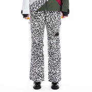 6Cento 665P Black White Leopard Ski Pants