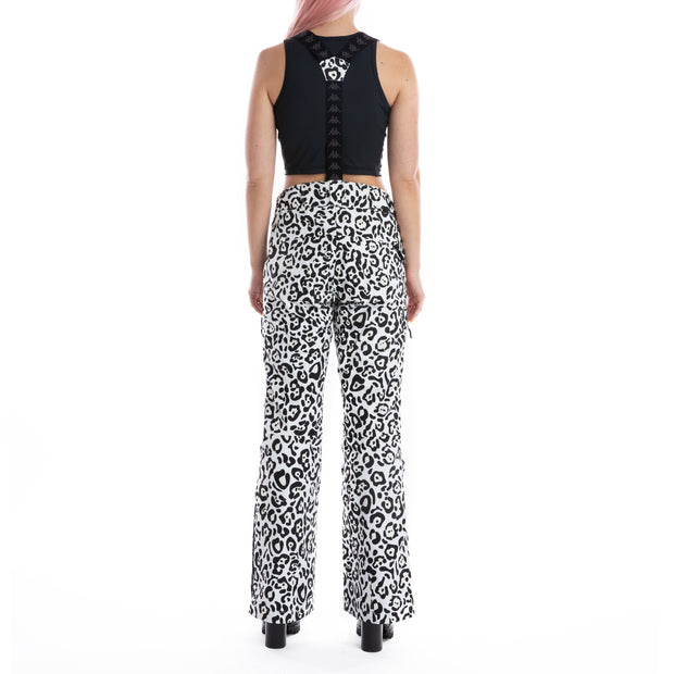 6Cento 665P Ski Pants - Black White Leopard
