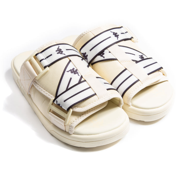 Authentic Jpn Mitel Off White White Sandals
