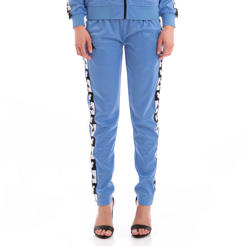Kappa Authentic Anthony Disney Blue Pacific Black Trackpants