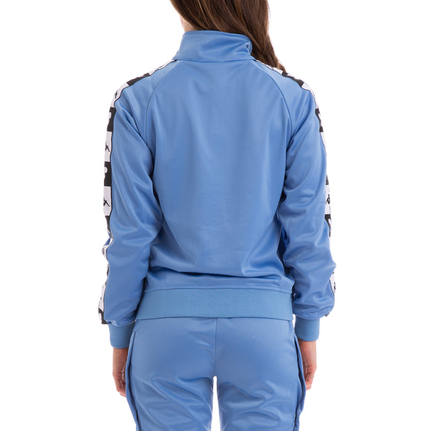 Kappa Authentic Anne Disney Blue Pacific Black Track Jacket
