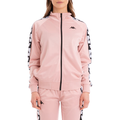 Kappa Authentic Anne Disney Pink Dusty Black Track Jacket