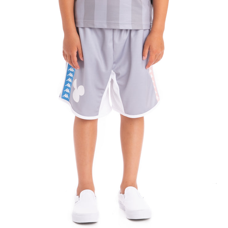 Kids Authentic Brisse Grey White Shorts