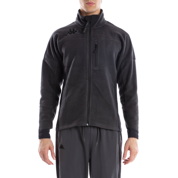 6Cento 687 Black Lt Fleece Jacket