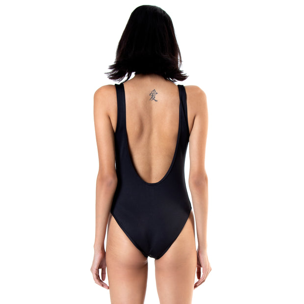 Kappa Authentic Bolla ComplexCon Black Gold Bodysuit