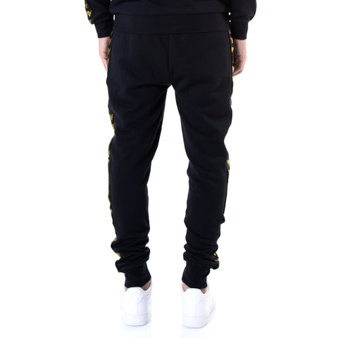 Kappa Authentic Butspad ComplexCon Black Gold Sweatpants