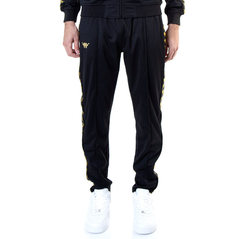 Kappa Authentic Bacile ComplexCon Black Gold Pants