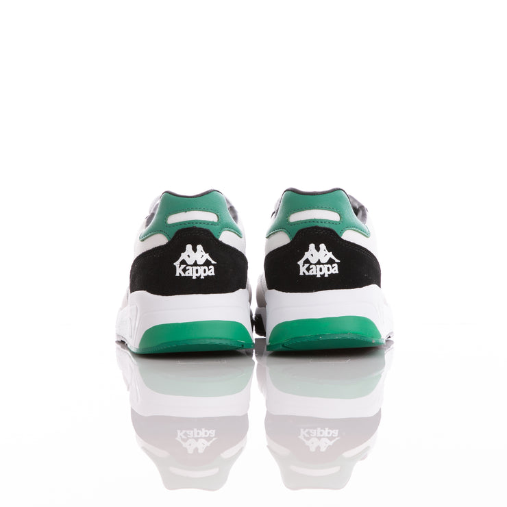 Kappa 222 Banda Luxor 1 White Green Sneakers