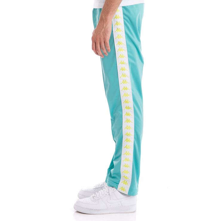 Kappa 222 Banda Astoriazz Green Lt White Trackpants