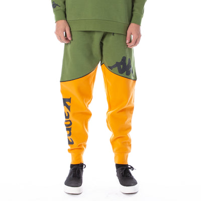Authentic 90 Bragon Sweatpants - Green Orange Black