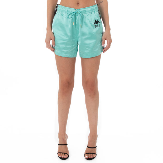 Authentic Juicy Couture Etta Shorts - Mint Black