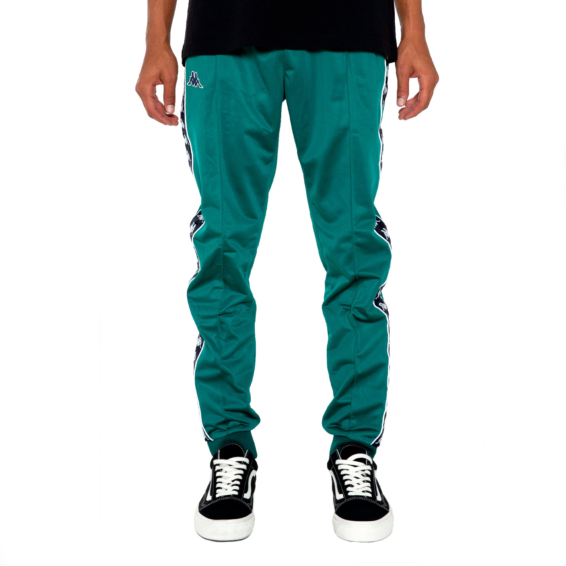 f199b148 222 Banda Rastoria Slim Green Blue Pants – Kappa USA