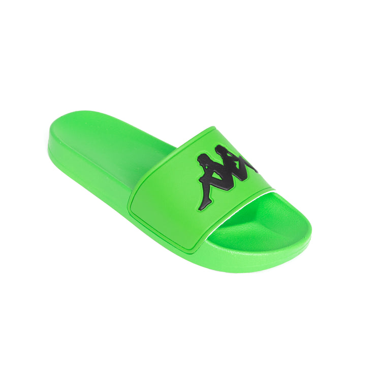 Authentic Adam 2 Green Fluo Black Slides