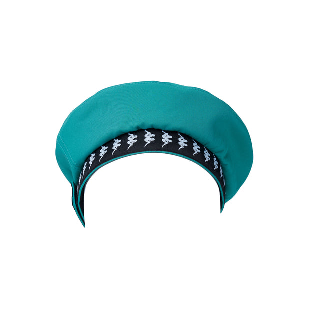 222 Banda Bzaian Basque Hat - Green Africa Black