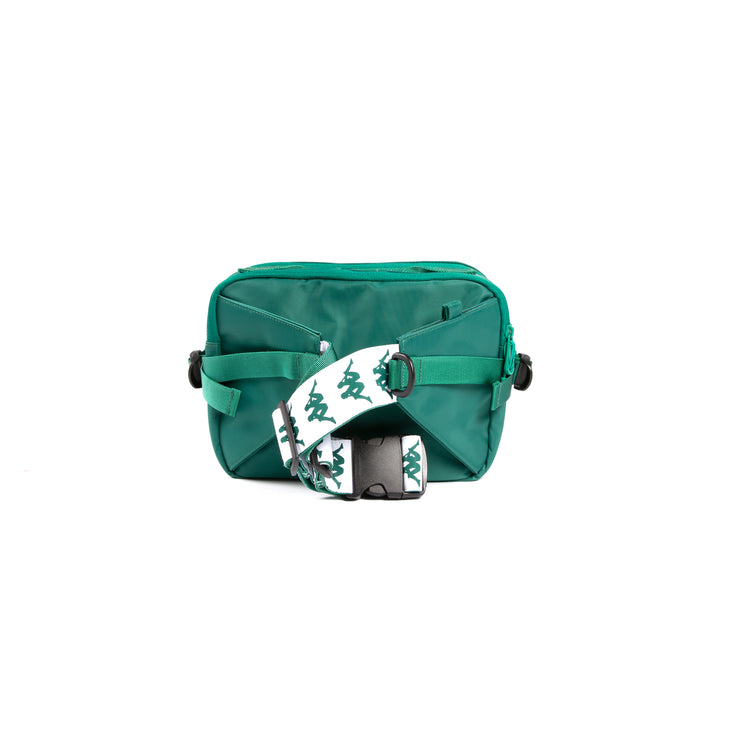 222 Banda Aldaz Green White Waist Bag