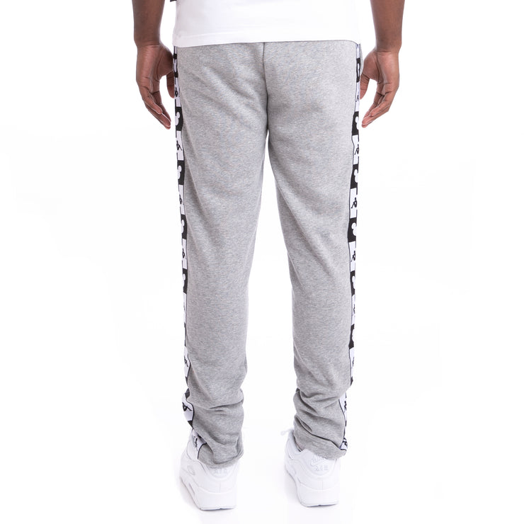Kappa Authentic Alphonso Disney Grey Md Mel Black Sweatpants