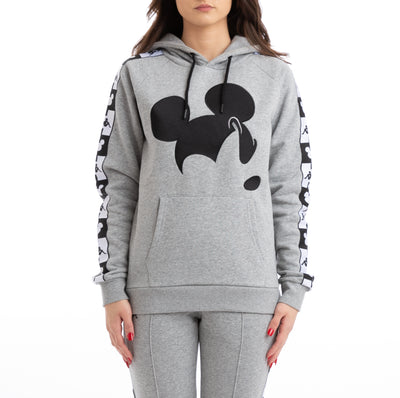Authentic Abel Disney Grey Black Hoodie