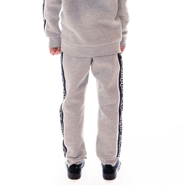 Kids Logo Tape Anira Sweatpants - Grey Md Melange Black