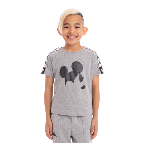 Kappa Kids Authentic Alvar Disney Grey T-Shirt