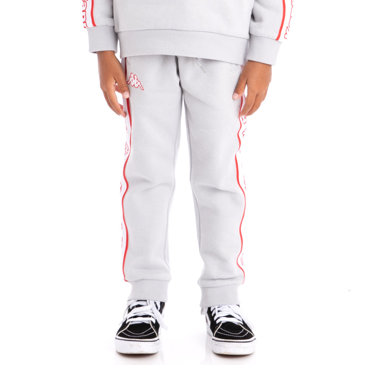 Kids Logo Tape Anira Sweatpants Grey Stone