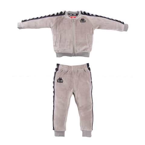 Infants Authentic 222 Banda Benetti Jacket GreyMist Black White - SET