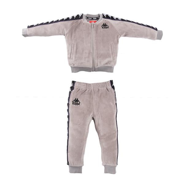 Infants Authentic 222 Banda Benetti/Ayne Tracksuit Greymist Black White