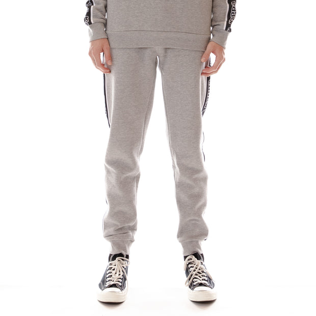 Logo Tape Anira Sweatpants - Grey Black