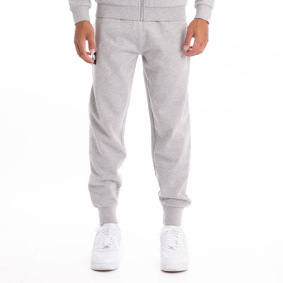 Authentic LA Barnie Sweatpants - Grey Md Mel White