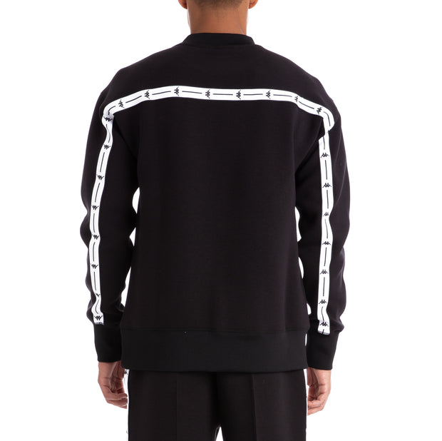 Authentic Jpn Barin Black White Pullover