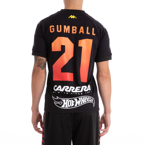 Kappa x Gumball 3000 Authentic Grali Black Futbol Jersey