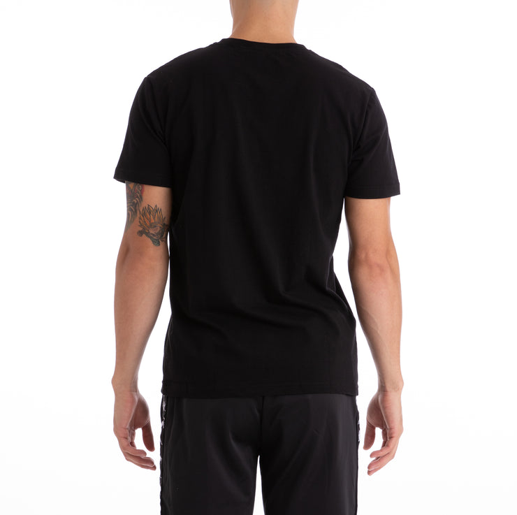 Kappa Authentic Capurro Black  T-Shirt