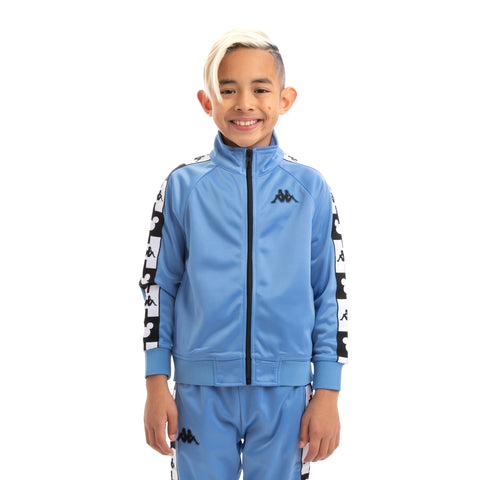 Kids Authentic Anne Disney Blue Pacific Black Track Jacket
