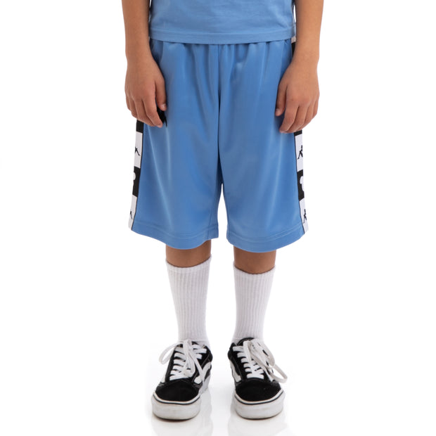 Kids Authentic Arwell Disney Blue Pacific Black Shorts