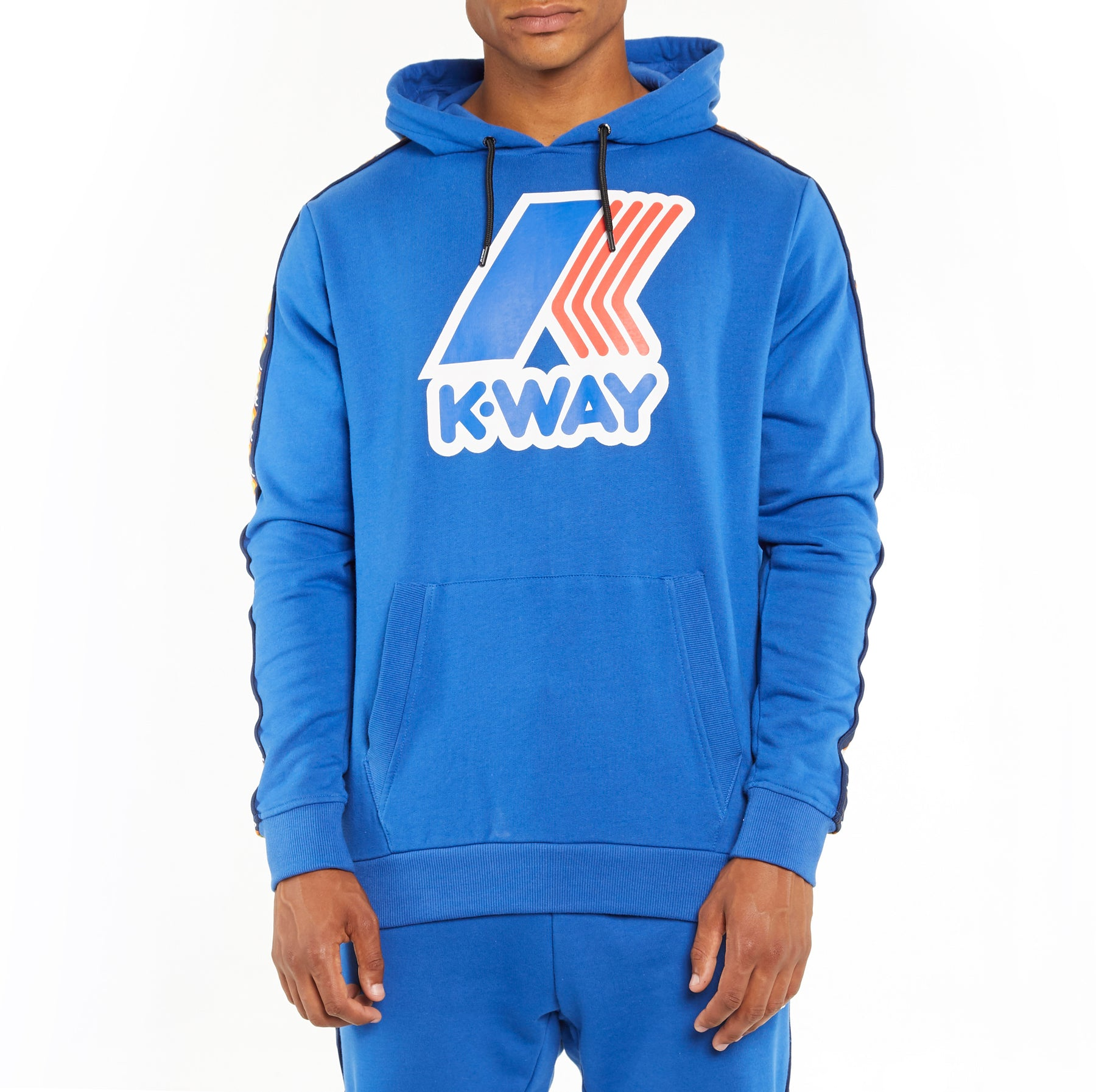 07f7b2364a Men's K-Way X Kappa Le Vrai 3.0 Bob Banda Hoodie Blue Royal – Kappa USA