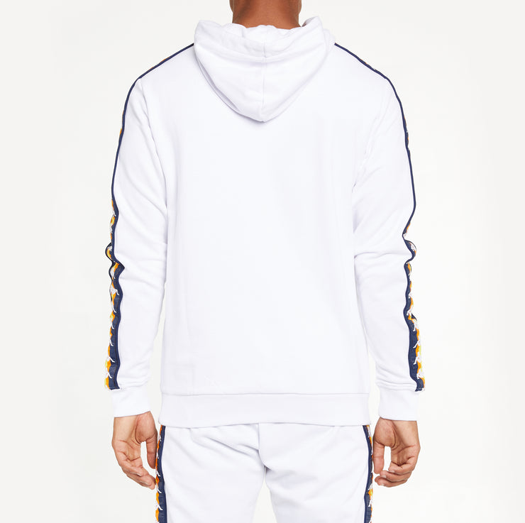Men's K-Way X Kappa Le Vrai 3.0 Bob Banda Hoodie White
