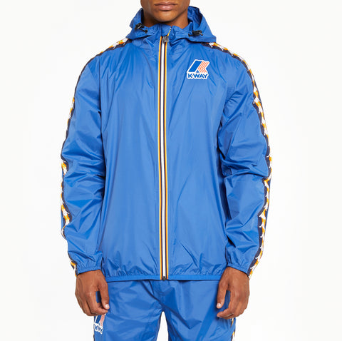 Men's K-Way X Kappa Le Vrai 3.0 Claude Banda Jacket Blue Royal