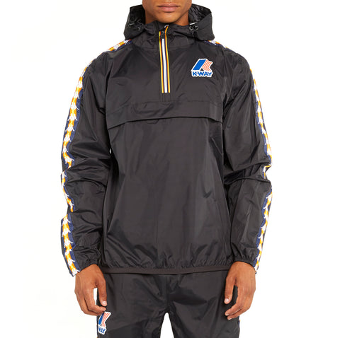 Men's K-Way X Kappa Le Vrai 3.0 Leon Banda Jacket Black