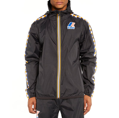 Men's K-Way X Kappa Le Vrai 3.0 Claude Banda Jacket Black