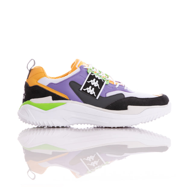 Kappa 222 Banda Masper 1 White Orange Lt Sneakers