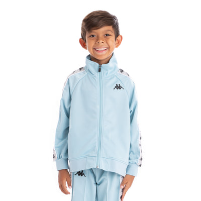 Kids 222 Banda Anniston Azure Greysilver Black Track Jacket