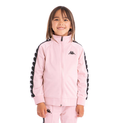 Kids 222 Banda Anniston Track Jacket Pink Black