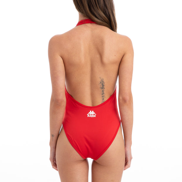 Kappa Authentic Bolos Red Bodysuit