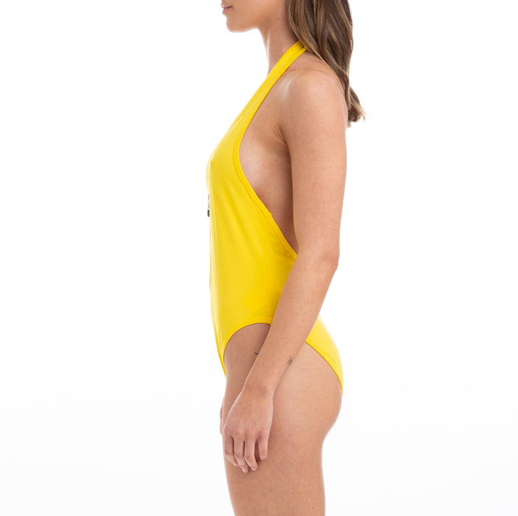 Kappa Authentic Bolos Yellow Bodysuit